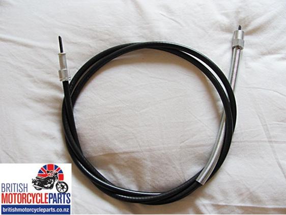 06-7904 Norton Commando Speedo Cable 5ft 9 1/2in - British MC Parts Auckland NZ