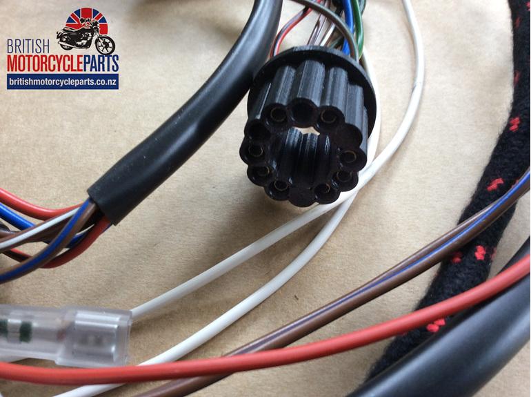06-8061 Wiring Loom 650SS Atlas - British Motorcycle Parts Ltd - Auckland NZ
