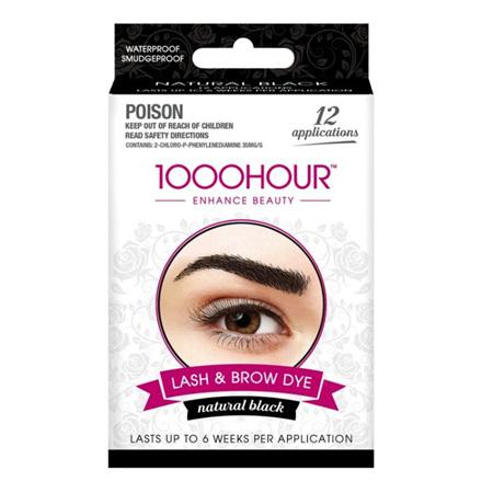 1000 Hour Eyelash/Brow Tint Black