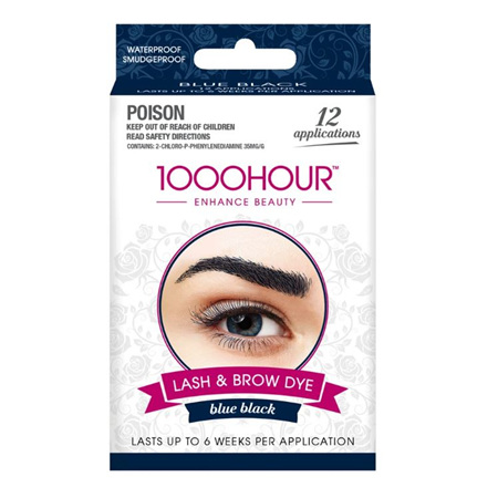 1000 Hour Eyelash/Brow Tint Blue/Black