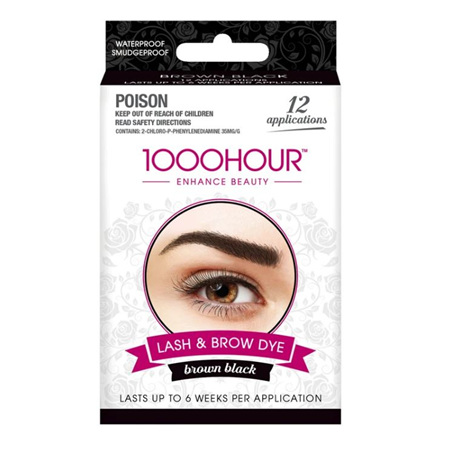 1000 Hour Eyelash/Brow Tint Brown/Black