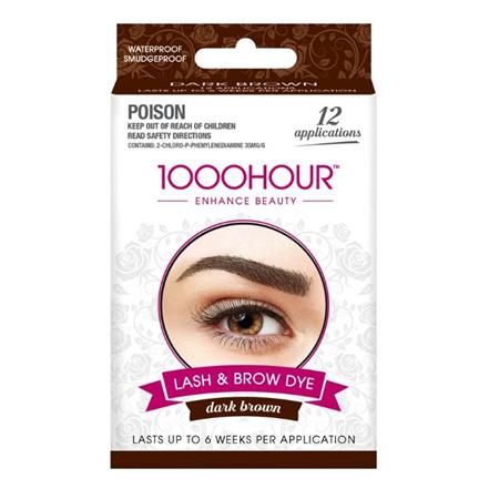 1000 Hour Eyelash/Brow Tint Dark Brown