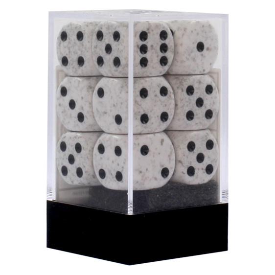 12 Arctic Camo 16mm Six Sided Dice Games and Hobbies New Zealand NZ
