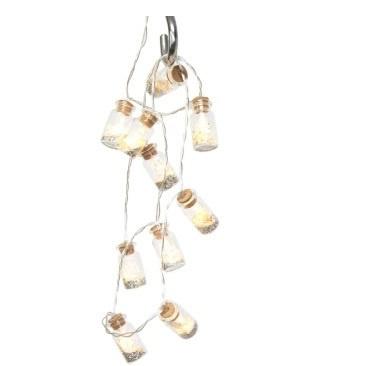 12cm Landis Glitter In Bottle Bo String Lights