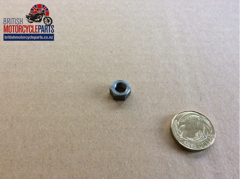 14-0402A Nut - Tappet Adjuster - British Motorcycle Parts Ltd - Auckland NZ