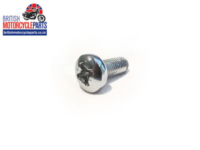 14-2205 Oil Tank Screw - Chrome