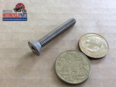 "14-6509SS Countersunk Screw 1/4"" UNC x 1 3/4"" UH"