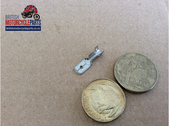 1/4 inch Male Spade Terminal - British Motorcycle Parts Ltd - Auckland NZ