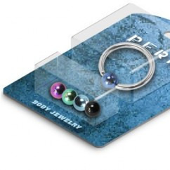 14G Bonus Pack Captive Ring w/ 4 Interchangeable Balls