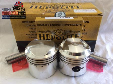 15123 Triumph 500cc Pistons & Ring Sets - 1958-67