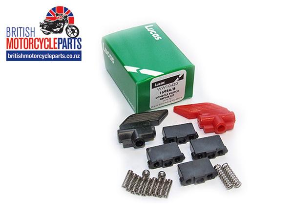 169SA/B Lucas Console Switch Kit - 1971-72 - British Motorcycle Parts Ltd - NZ