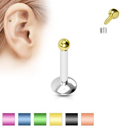 16g Internally Thread Micro Labret