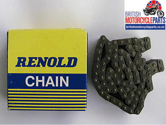 19-8639 Primary Chain - Triplex 80 Link - BSA A65 - Classic British Motorcycles