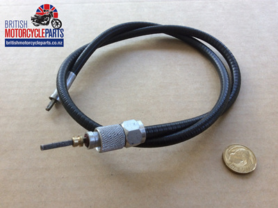 "19-9099 19-9076 Tacho Cable 2'9"" BSA A65/A50"