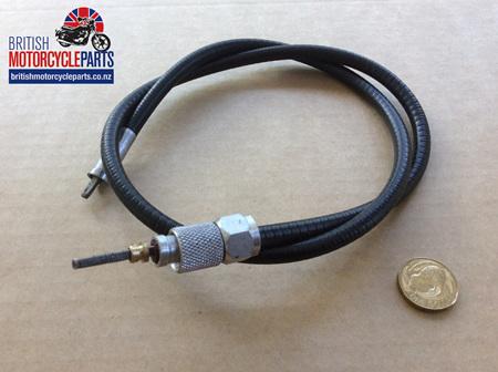 """19-9099 19-9076 Tacho Cable 2'9"""" BSA A65/A50"""