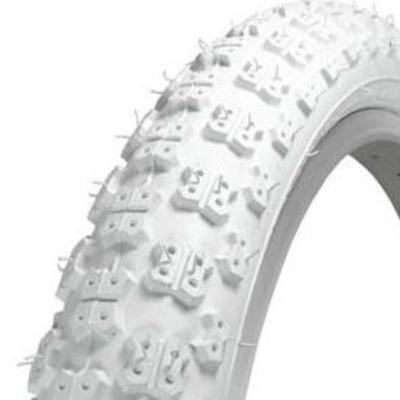 """20"""" BMX Tyre White CST"""