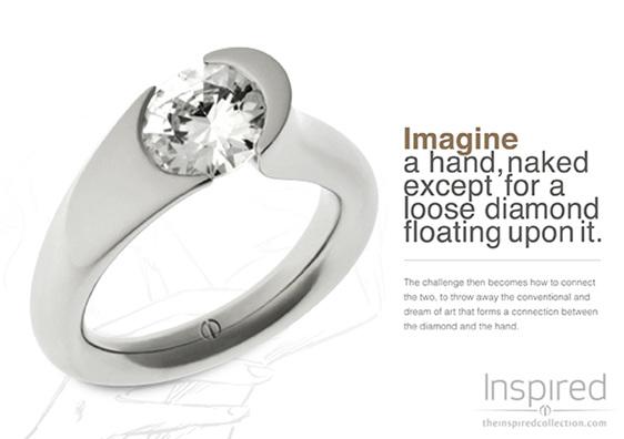 2012 Best Award winner Stellad designer diamond ring