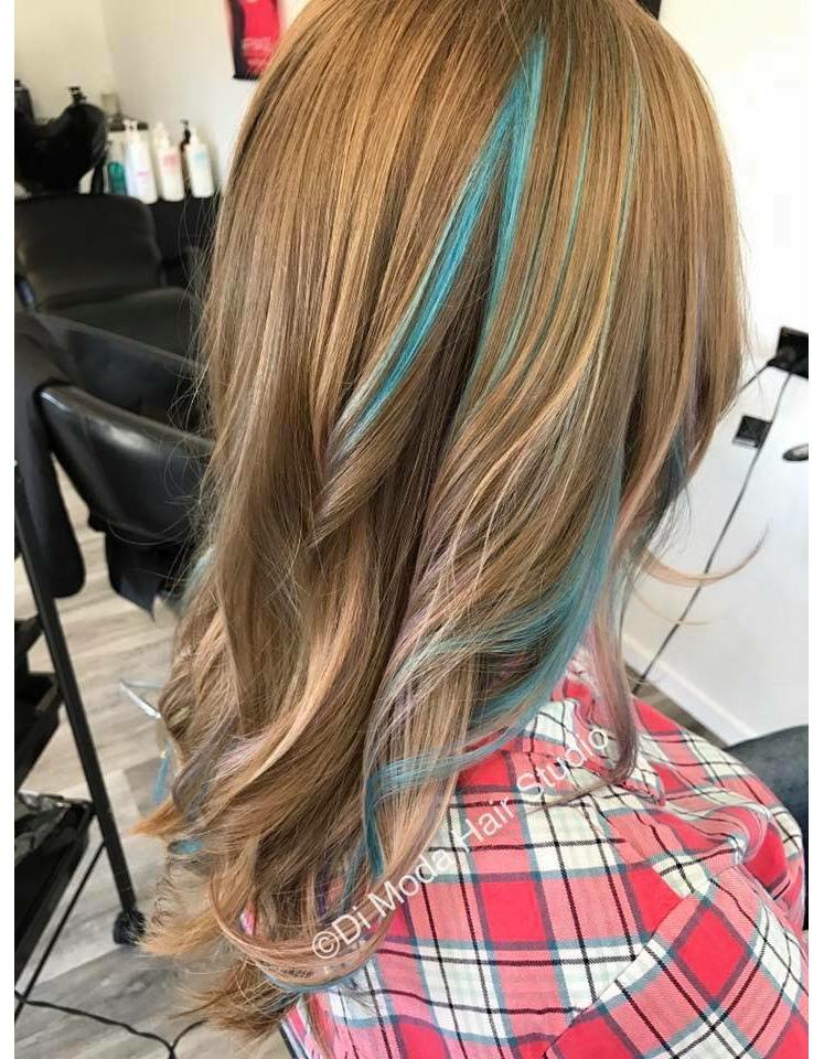 Pops of colour