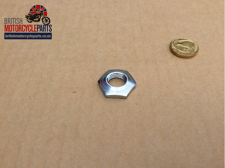 21-0545 Swinging Arm Spindle Nut - S545 British Motorcycle Parts Ltd - NZ