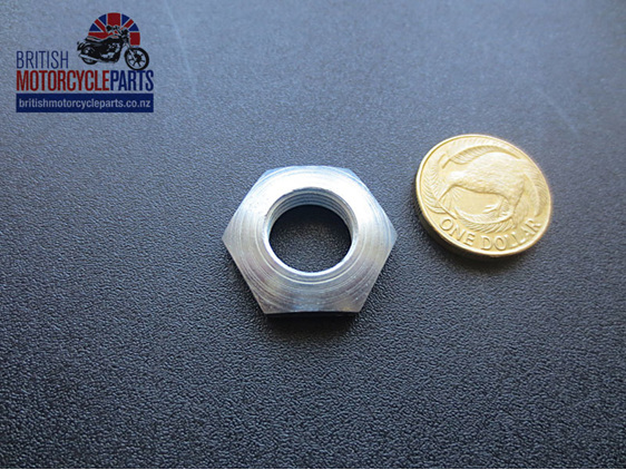 "21-0594 Gearbox Mainshaft Nut 9/16"" UNF Triumph - British Motorcycle Parts Ltd"