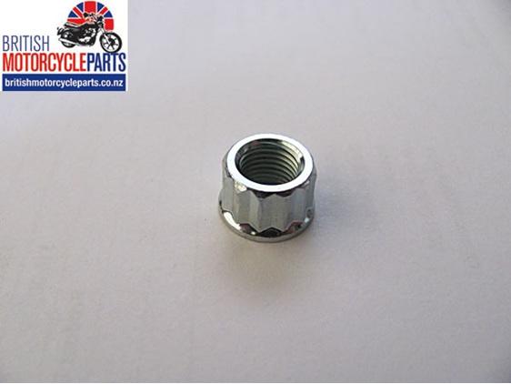21-0692 Cylinder Base Nut 12 Point UNF - BSA Triumph - British Motorcycle Parts