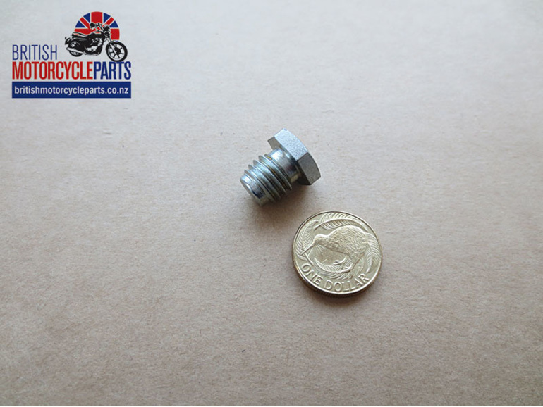 21-1872 Crankcase Timing Plug UNC - Triumph 1969on - British Motorcycle Parts NZ