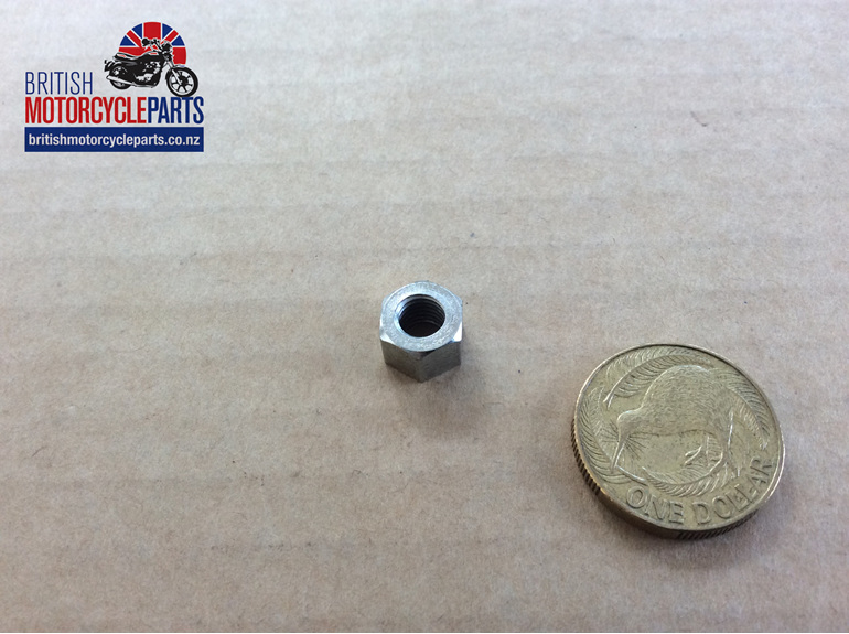 """21-1877 Nut 1/4"""" UNF Small Head - British Motorcycle Parts Auckland NZ"""