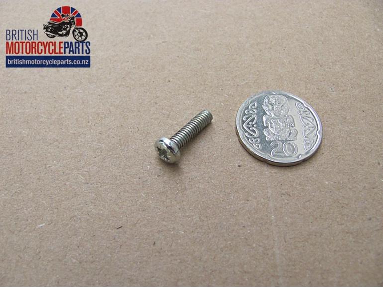21-1940 Oil Cooler Reflector Screw - BSA A75 Rocket 3 Triumph T150 T160 Trident