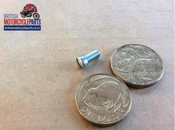 21-2064 Tank Badge Screw - 4 Gallon - British Motorcycle Parts Ltd Auckland NZ