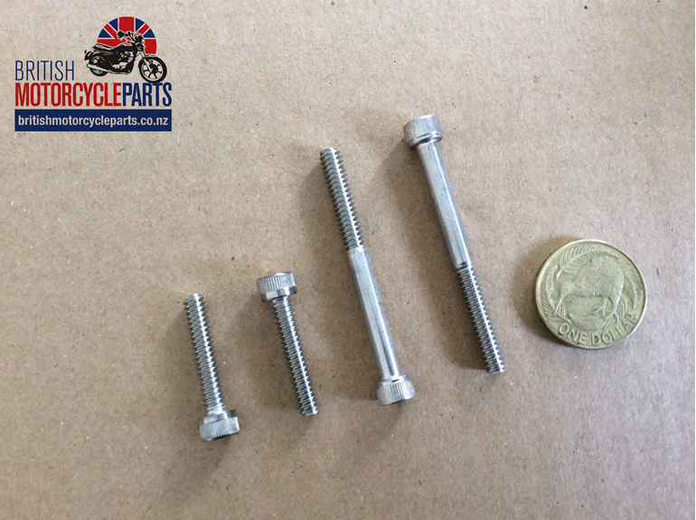 21-2192A 21-2194A Cylinder to Switch Screw Kit - Triumph 1973-78