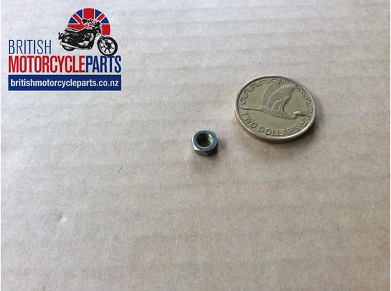 21-7009 Nut - Exhaust Clamp Screw - British Motorcycle Parts Ltd - Auckland NZ