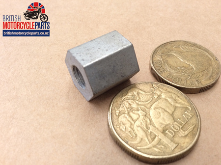 21-7022 Side Cover Fixing Nut Tall - Silver Jubilee