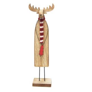 25cmh Robbie Reindeer Xmas Deco