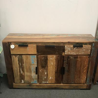 3 Door 3 Drawer Reclaimed Wood Buffet