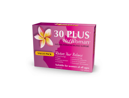30 PLUS NuWoman 60 Tablets