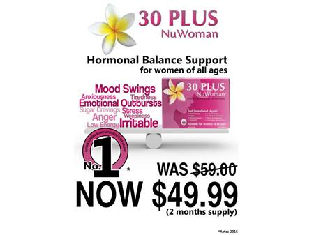 30 PLUS NuWoman Hormone Bal. 120tab