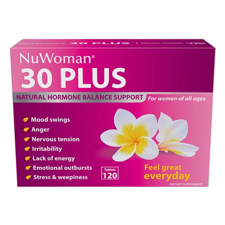 30 PLUS NuWoman Hormone Balance 120tab