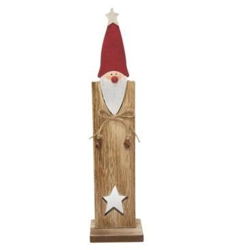 30cm Sydney Mdf Santa Deco