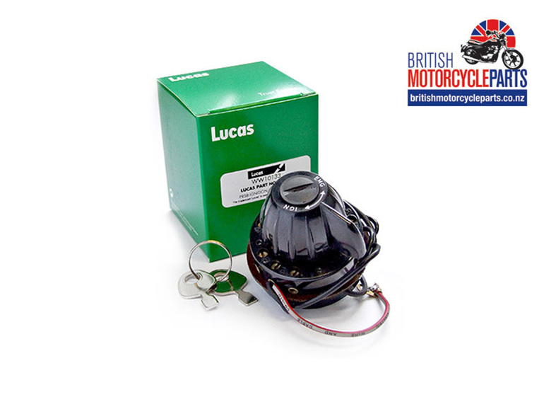 31443 PRS8 Lucas Ignition & Light Switch - British Motorcycle Spares in NZ
