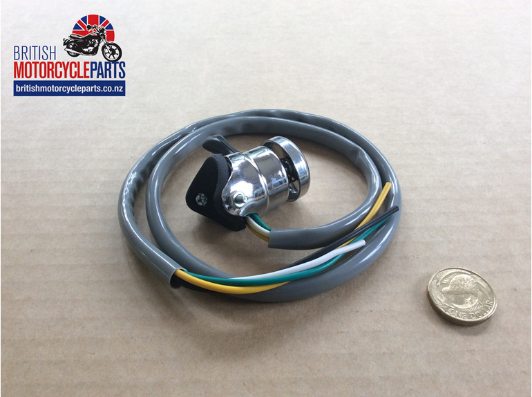 31563 Horn Dip Switch - Screw On Replica - British Motorcycle Parts Auckland NZ