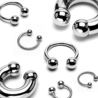 316L Surgical Steel Circular Barbells