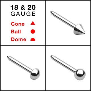 316L Surgical Steel Nose Stud