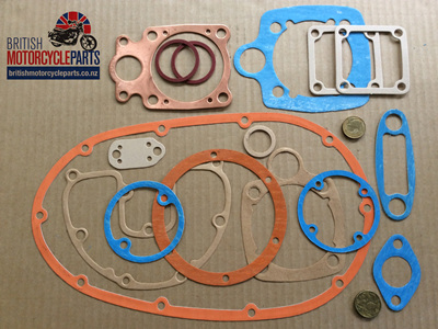 BSA B25 Engine Gasket Set 1966-70 - 335BSA