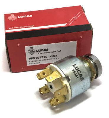 35351 Lucas Ignition Switch - T140E T160