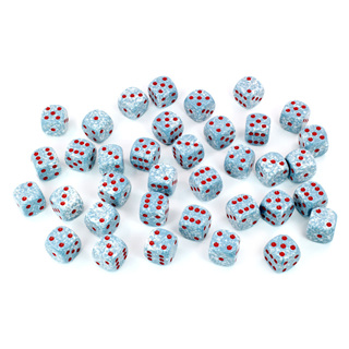 36 'Air' Speckled Six Sided Dice (12mm)
