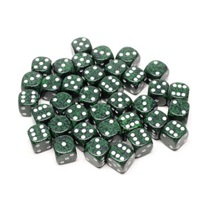 36 Speckled 'Recon' six sided dice Games and Hobbies NZ New Zealand