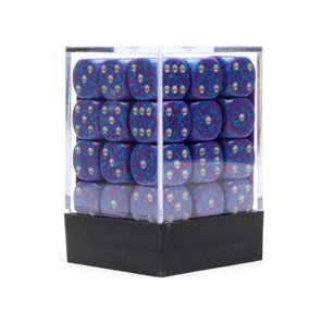 36 Speckled 'Silver Tetra' six sided dice Games and Hobbies NZ New Zealand