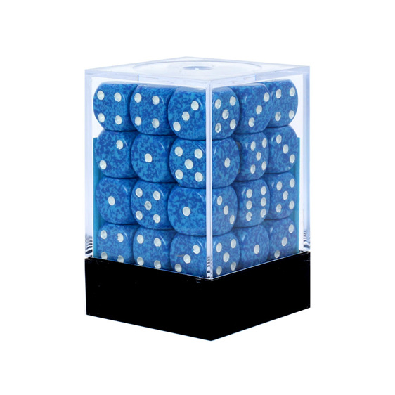 36 Speckled 'Water' six sided dice Games and Hobbies NZ New Zealand