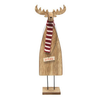 36cmh Robbie Reindeer Xmas Deco