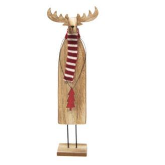 36cmh Rupert Reindeer Xmas Deco